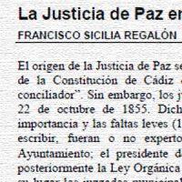 La Justicia de Paz en Pedroche (1868-2012), por Francisco Sicilia Regalón