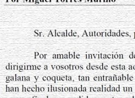 Pregón de Feria de 1986, por Miguel Torres Murillo