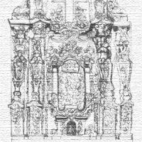Retablo de la Virgen del Rosario, por Gema Araceli Mantero Carvajal. Año 2004