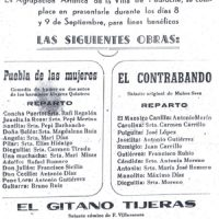 Cartel de Teatro. Septiembre de 1975
