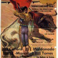 Cartel de Toros. Año 1983