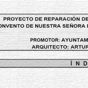 Proyecto de reparación de las cubiertas del antiguo Convento de Nuestra Señora de la Concepción de Pedroche