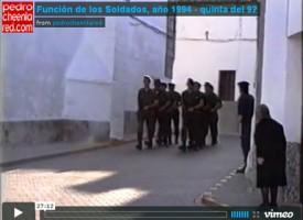 Función de los Soldados, año 1994 – quinta del 92