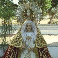 """Rogativas a la Virgen de Piedrasantas. Periódico """"El Defensor de Córdoba"""", mayo de 1935"""