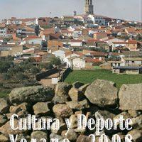 Agosto, cultura y deporte – Pedroche 2008