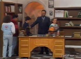 Pedroche en «Tal como Somos» de Canal Sur TV. Febrero de 1993