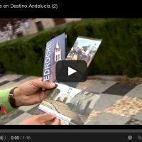"""Pedroche en """"Destino Andalucía"""". Canal Sur TV, año 2013"""