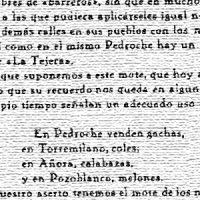 Apodos de los naturales del Valle de Los Pedroches: Pedroche. Por Juan Ocaña Torrejón