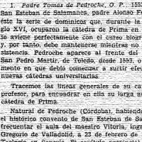 Miscelanea Beltrán de Heredia: Tomás de Pedroche. 1973