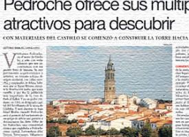 Pedroche ofrece sus múltiples atractivos para descubrir. Diario Córdoba, 2012