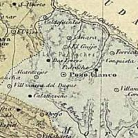 "Pedroche en el mapa ""Córdoba, 1850 – 1900"""