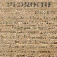 Las fiestas de Pedroche en 1928