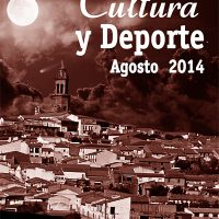 Agosto, cultura y deporte – Pedroche 2014