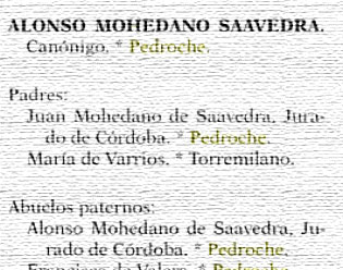 Alonso Mohedano