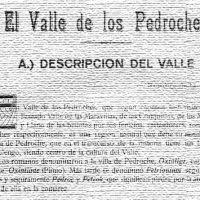 El Valle de los Pedroches, por Alfredo Gil Muñiz. Año 1925