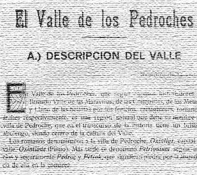 El Valle de los Pedroches