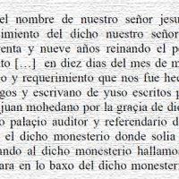 """""""1549. Testamento de Juan Mohedano, obispo de Ravello, auditor de la Rota"""", por Anastasio Rojo Vega"""