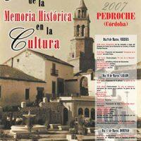 Jornadas Memoria Histórica en Pedroche 2007