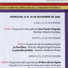 Jornadas Memoria Histórica en Pedroche 2009