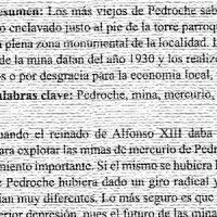 Un proyecto para explotar la mina de mercurio, por Francisco Sicilia Regalón