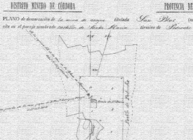Planos de demarcación de las minas de Pedroche, entre 1893 y 1943