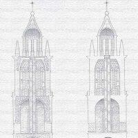 Restauración de la Torre e Iglesia del Salvador de Pedroche, año 1994
