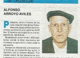 Alfonso Arroyo Avilés en «Nuestros mayores dicen, hablan, esta…». Año 1993