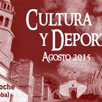 Agosto, cultura y deporte – Pedroche 2015