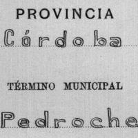 Actas, cuadernos y reseñas de líneas límite con Pedroche (1948)