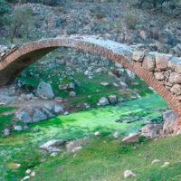 El otro puente sobre el arroyo Santa María, en Pedroche