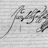 Francisco de las Misas, pedrocheño, factor y veedor de Filipinas